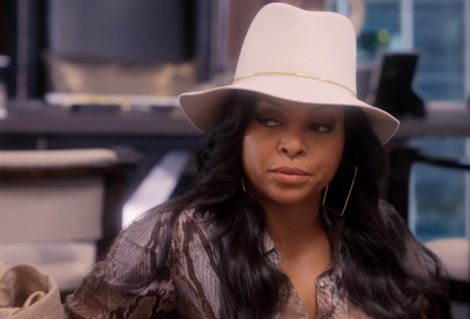 (The ever lovely Cookie Lyon played by Taraji Henson)